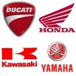 Ducati Honda Kawasaki Yamaha